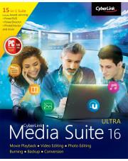 CyberLink Media Suite 16 - aktualizacja z wersji poprzedniej 9-15