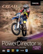 PowerDirector 16 Ultimate Suite - aktualizacja z wersji od 11 do 15