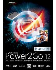Power2Go 12 Platinum - aktualizacja z wersji 11/10 Platinum