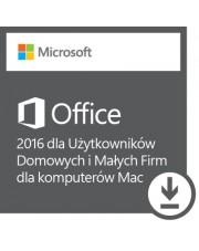 Microsoft Office 2016 dla Uż. Domowych i Małych Firm dla Mac ESD
