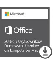 Office 2016 dla Uż. Domowych i Uczniów dla komputerów Mac