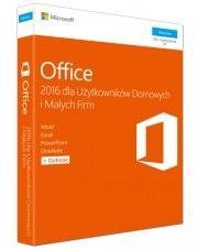 Microsoft Office 2016 dla Użytkowników Domowych i Małych Firm BOX