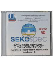 SEKO-SPEC Specyfikacje techniczne - Zestaw 1-50