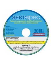 SEKO-SPEC Specyfikacje techniczne ogólnobudowlane - Zest. 33 / CD