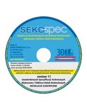 SEKO-SPEC Specyfikacje techniczne instalacji elektrycznych - Zest.1 - 11 / CD