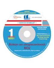 Biuletyn cen ubezpieczeniowych BCU 1 półr. 2021 CD