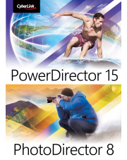 PowerDirector 15 Ultimate + PhotoDirector 8 Ultra