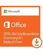 Microsoft Office 2016 dla Użytkowników Domowych i Małych Firm ESD