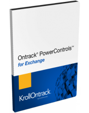 Ontrack PowerControls for Exchange 9