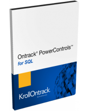 Ontrack PowerControls for SQL 9