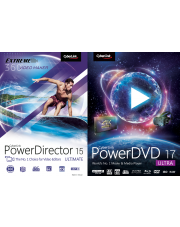 PowerDVD 17 Ultra & PowerDirector 15 Ultimate