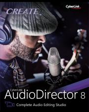 AudioDirector 8 Ultra - aktualizacja z dowolnej wersji poprzedniej