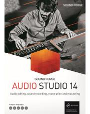 Sound Forge Audio Studio 14 - Licencja dla jednostek edukacyjnych i rządowych