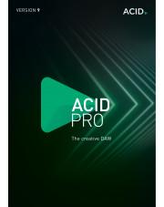 ACID Pro 9 - Licencja dla jednostek edukacyjnych i rządowych