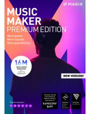 MAGIX Music Maker Premium 2019 - Wersja edukacyjna