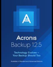 Acronis Backup 12.5 Standard Workstation - Wersja edukacyjna i rządowa