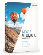 Vegas Movie Studio Platinum 15 BOX