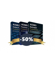 AOMEI Backupper Professional + AOMEI Partition Assistant Professional + AOMEI OneKey Recovery