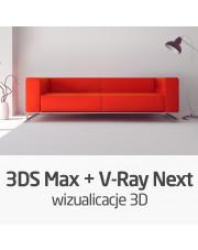 Kurs 3ds Max + V-Ray Next - realistyczne wizualizacje 3D