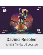 Kurs DaVinci Resolve - montaż filmów od podstaw