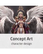 Kurs Concept Art - rysowanie postaci i character desig