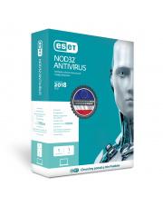 ESET NOD32 Antivirus 2018 - przedłużenie licencji