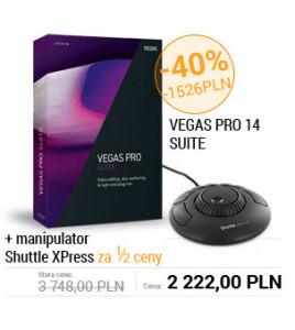 Magix Vegas z manipulatorem ShuttleXPress