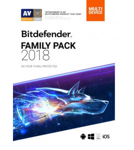 Bitdefender Family Pack 2018 chroni system Windows, Mac OS, iOS oraz Android. Teraz taniej o 30%