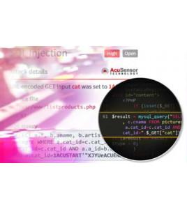 Wykrywanie luk w zabezpieczeniach stron internetowych przy pomocy Acunetix 12