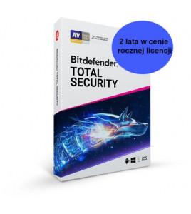 2 lata w cenie rocznej licencji Bitdefender