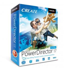 PowerDirector 17 firmy CyberLink oferuje profesjonalne rozwiązania do edycji wideo