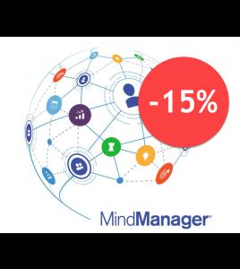 Narzędzie mapowania umysłu MindManager 2019 w cenie obniżonej o 15%
