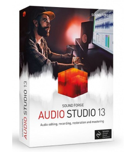 SOUND FORGE Audio Studio 13 - Edycja, nagrywanie, restauracja i mastering