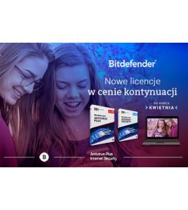 Nowe licencje Bitdefender w cenie kontynuacji