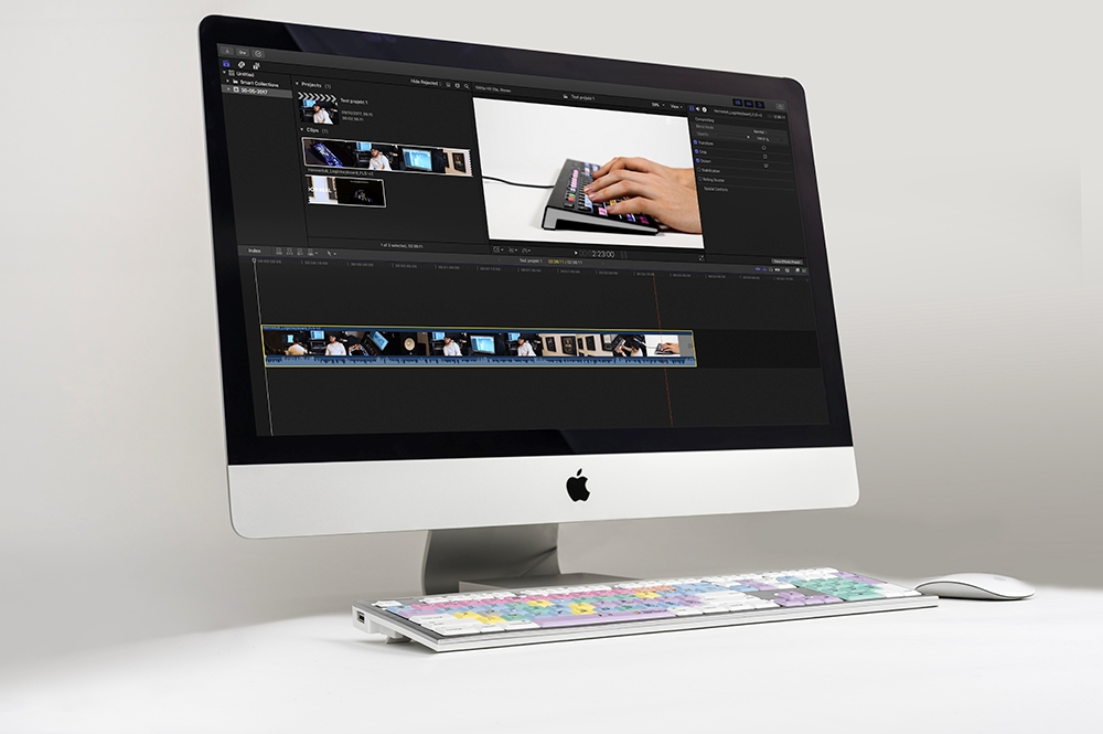 Final Cut Pro X - Mac ALBA Keyboard - American English keyboard