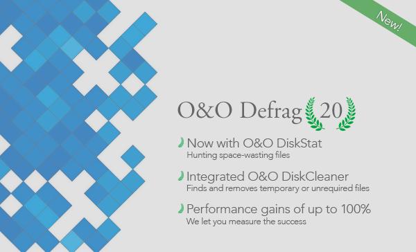 O&O Defrag Professional 20.0 Build 427 [Full Key] โปรแกรมจัดเรียงข้อมูลในฮาร์ดดิสก์ให้เป็นระเบียบ